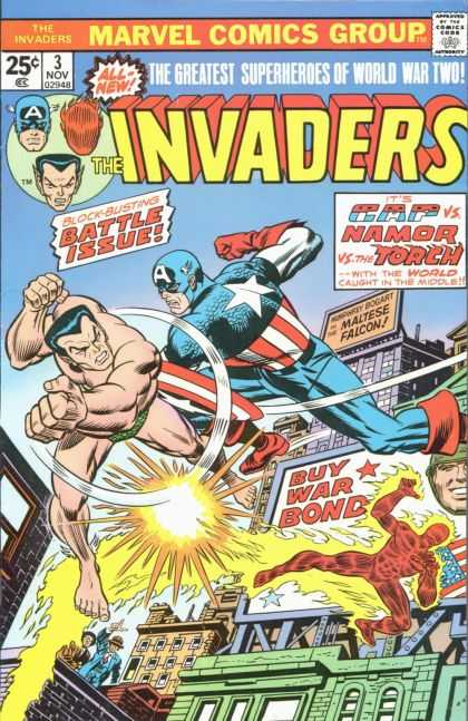 Invaders, The A1 Comix Comic Book Database