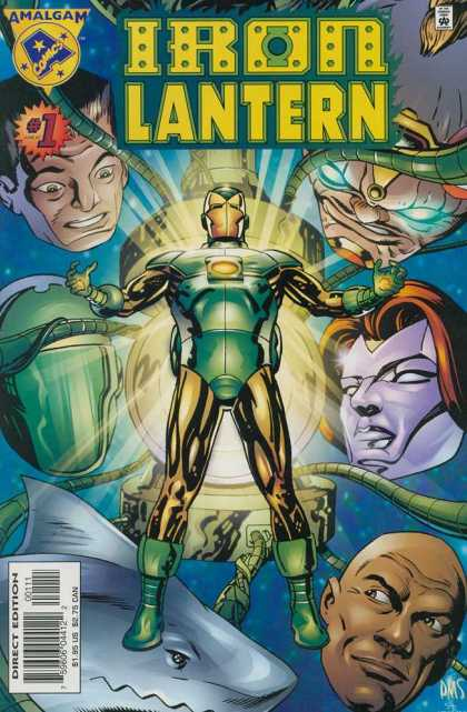 Iron Lantern A1 Comix Comic Book Database