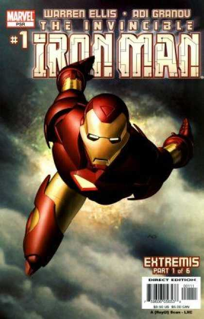 Iron Man 2005 Comic Book Back Issues by A1 Comix