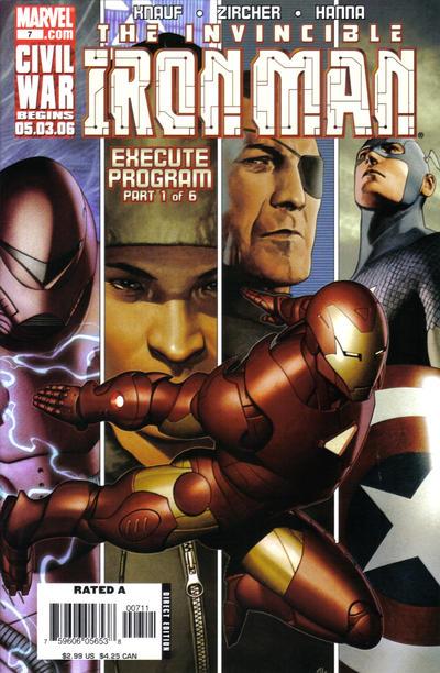 Iron Man 2005 A1 Comix Comic Book Database