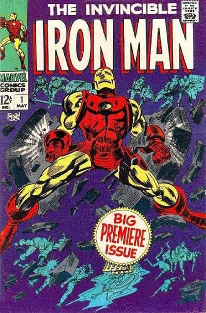 Iron Man Comic Book Back Issues by A1 Comix