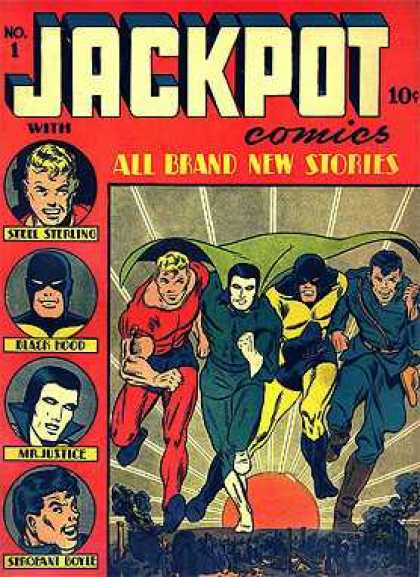 Jackpot Comics Comic Book Back Issues by A1 Comix