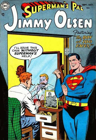 Superman's Pal: Jimmy Olsen Comic Book Back Issues of Superheroes by A1Comix