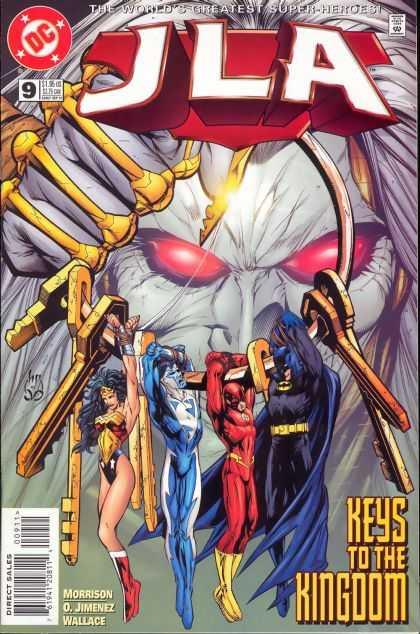 JLA A1 Comix Comic Book Database