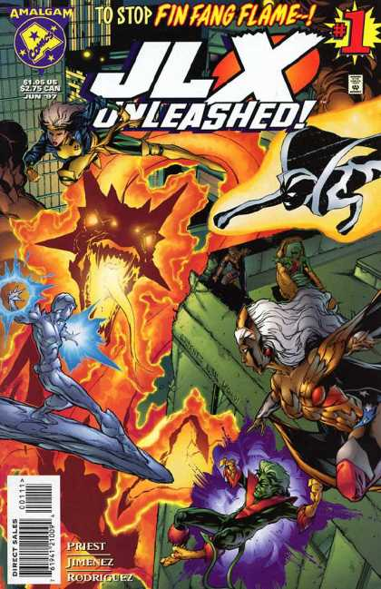 JLX Unleashed A1 Comix Comic Book Database