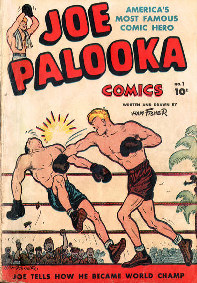 Joe Palooka Comics Comic Book Back Issues by A1 Comix