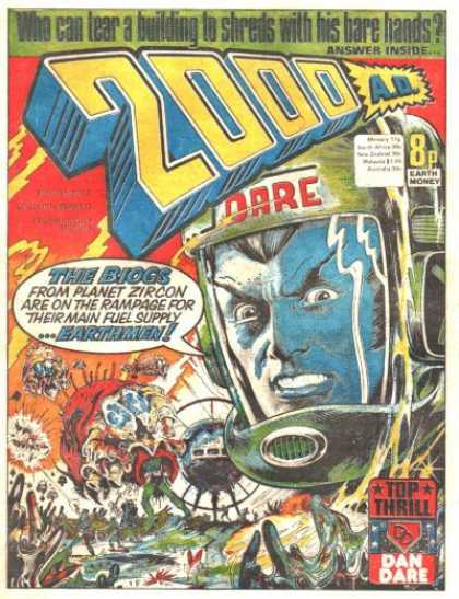 Judge Dredd 2000 A.D. A1 Comix Comic Book Database
