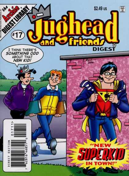 Jughead and Friends Digest A1 Comix Comic Book Database
