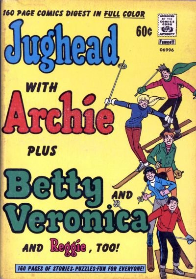 Jughead with Archie Digest Comic Book Back Issues by A1 Comix
