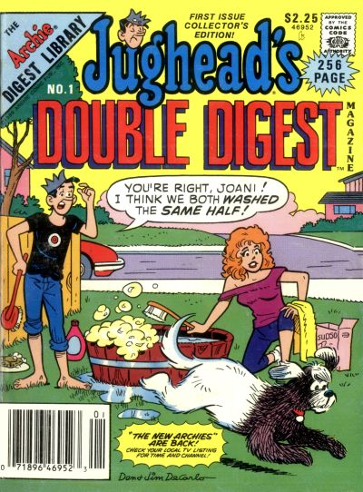 Jughead's Double Digest Comic Book Back Issues by A1 Comix