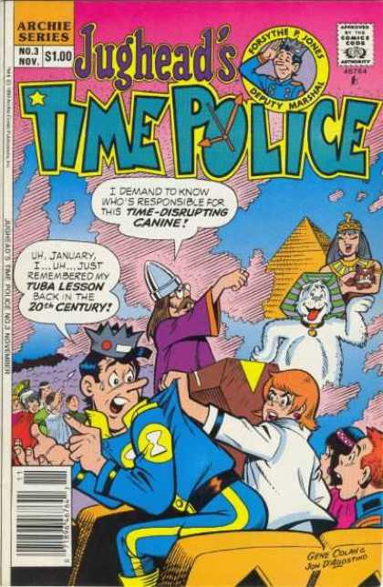 Jughead's Time Police A1 Comix Comic Book Database