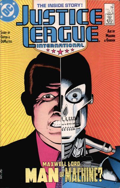 Justice League International A1 Comix Comic Book Database