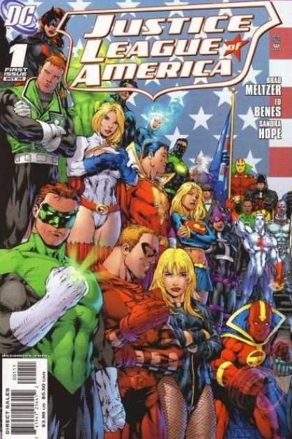 Justice League of America (2006) Comic Book Back Issues of Superheroes by A1Comix