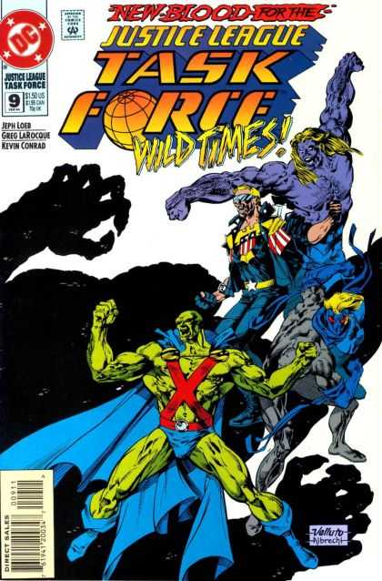 Justice League Task Force A1 Comix Comic Book Database