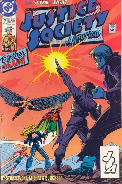 Justice Society of America A1 Comix Comic Book Database