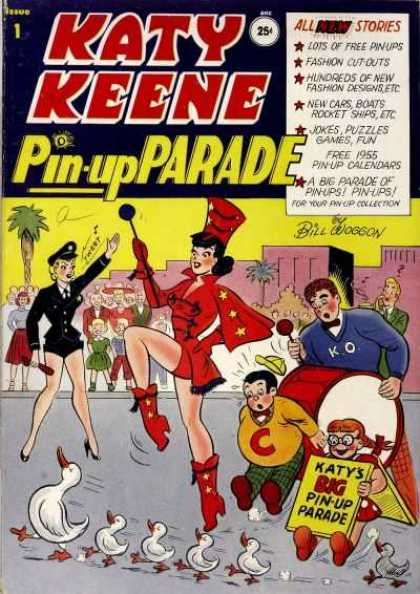 Katy Keene Pin Up Parade Comic Book Back Issues by A1 Comix