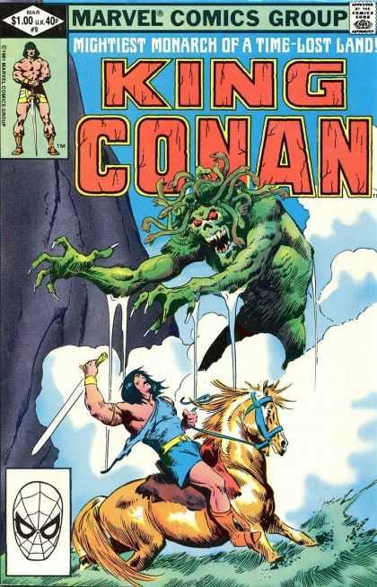 King Conan A1 Comix Comic Book Database