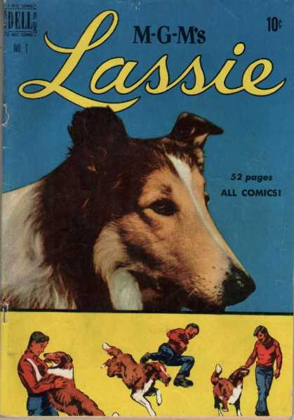 Lassie Comic Book Back Issues by A1 Comix