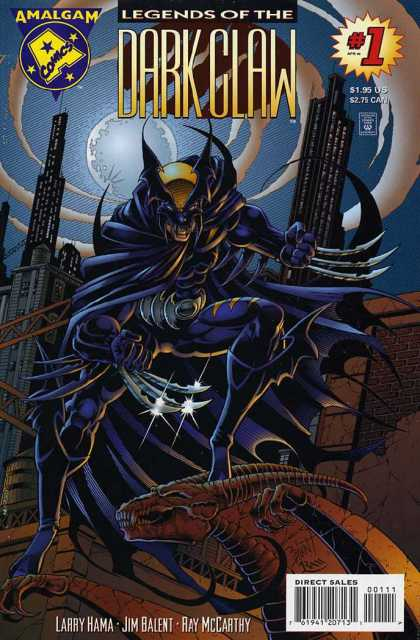 Legends of the Dark Claw Comic Book Back Issues by A1 Comix