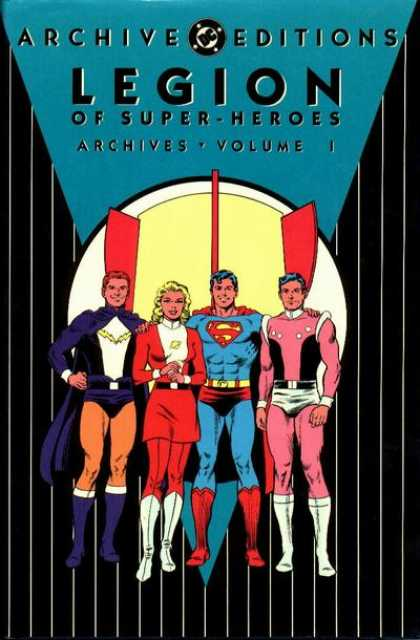 Legion of Super Heroes Archive Comic Book Back Issues by A1 Comix