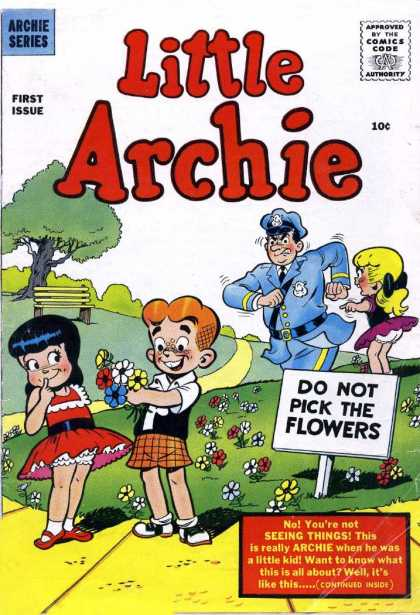 Little Archie Comic Book Back Issues by A1 Comix