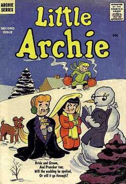 Little Archie A1 Comix Comic Book Database