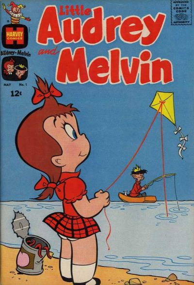 Little Audrey and Melvin Comic Book Back Issues by A1 Comix