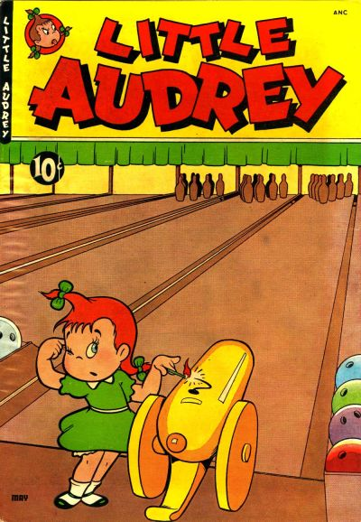 Little Audrey comic book back issue comicbook back copy