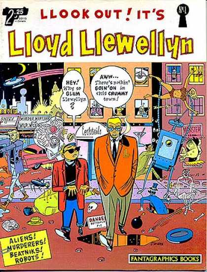 lloyd-llewellyn Comic Book Back Issues by A1 Comix