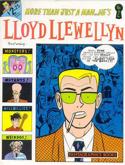 lloyd-llewellyn A1 Comix Comic Book Database