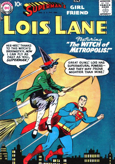 Superman's Girlfriend: Lois Lane Comic Book Back Issues of Superheroes by A1Comix