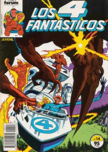 Los 4 Fantasticos A1 Comix Comic Book Database