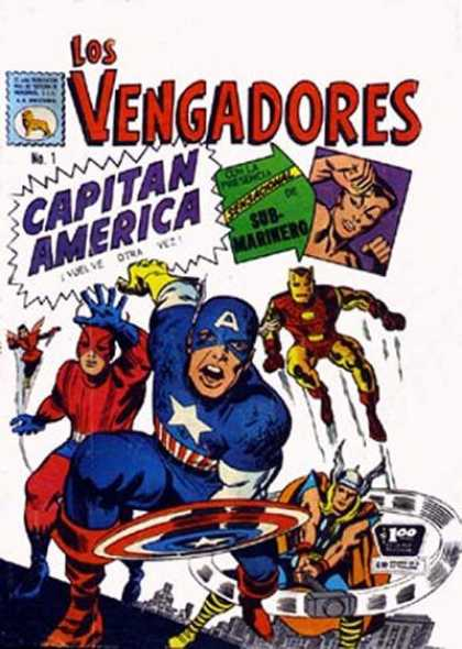 Los Vengadores (Mexico) Comic Book Back Issues by A1 Comix