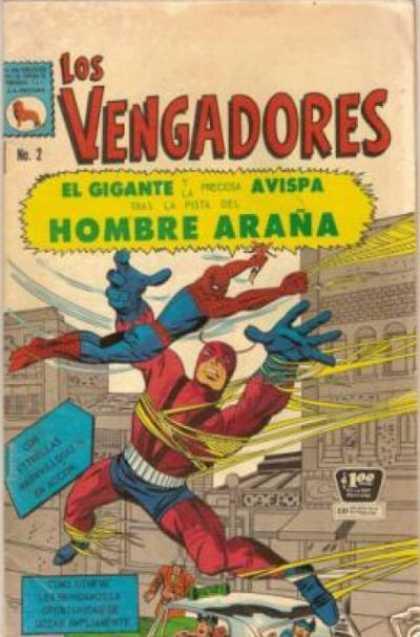 Los Vengadores (Mexico) A1 Comix Comic Book Database