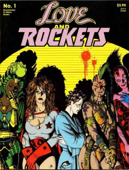 Love and Rockets Comic Book Back Issues by A1 Comix