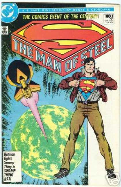 Man of Steel Comic Book Back Issues by A1 Comix