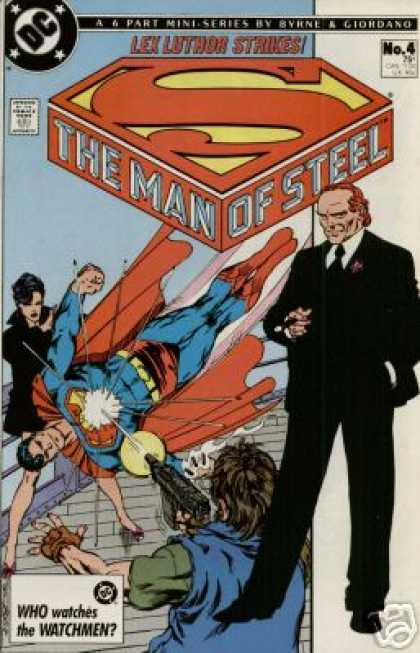Man of Steel A1 Comix Comic Book Database