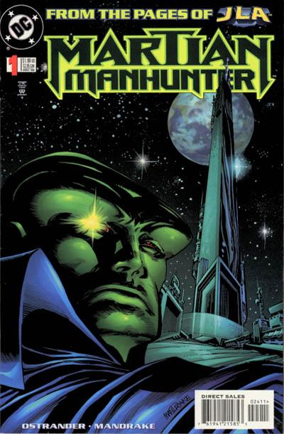 Martian Manhunter Comic Book Back Issues by A1 Comix