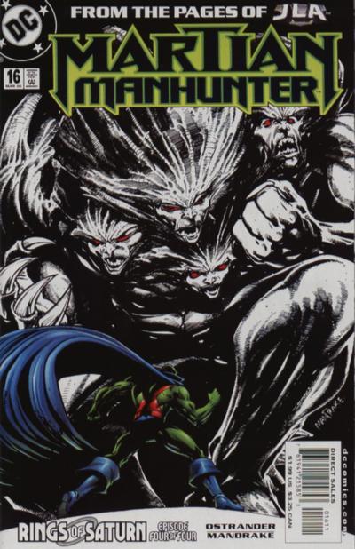 Martian Manhunter A1 Comix Comic Book Database