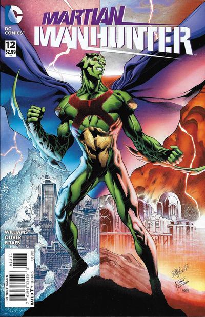 Martian Manhunter 2015 A1 Comix Comic Book Database