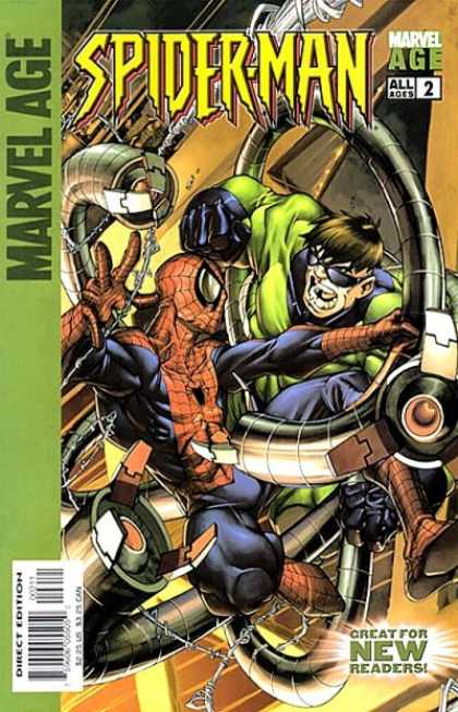 Marvel Age Spider-Man A1 Comix Comic Book Database