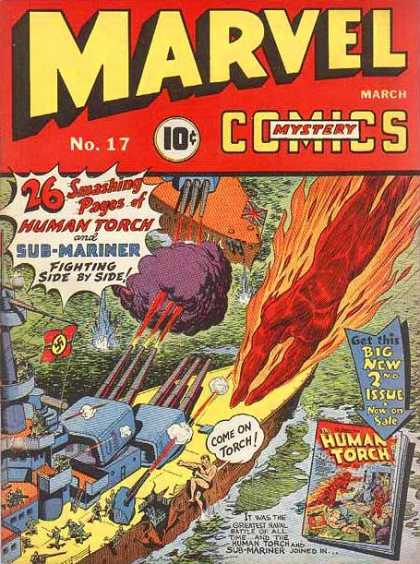Marvel Mystery Comics A1 Comix Comic Book Database