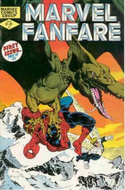 Marvel Fanfare Comic Book Back Issues by A1 Comix