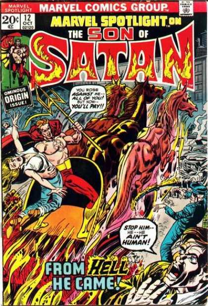 Marvel Spotlight A1 Comix Comic Book Database