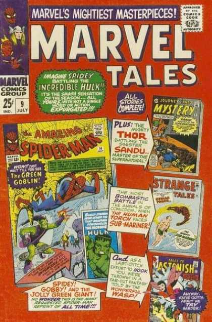 Marvel Tales A1 Comix Comic Book Database