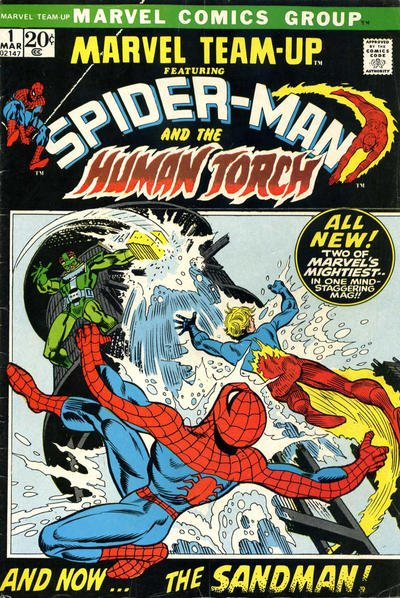 Marvel Team-Up Comic Book Back Issues by A1 Comix