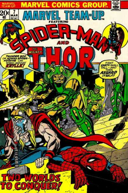 Marvel Team-Up A1 Comix Comic Book Database