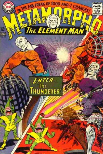 Metamorpho A1 Comix Comic Book Database
