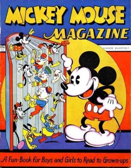 Mickey Mouse Magazine Comic Book Back Issues by A1 Comix