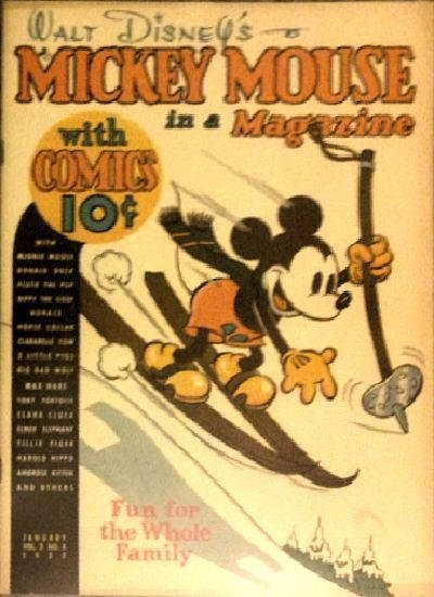 Mickey Mouse Magazine A1 Comix Comic Book Database